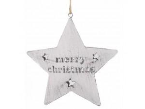 Χριστουγεννιάτικο στολίδι Αστέρι 12x12x1 εκ.