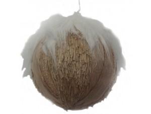 Χριστουγεννιάτικη διακοσμητική μπάλα 12x12x12 εκ.