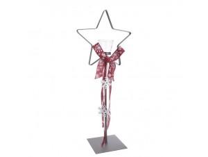 Διακοσμητικό Κηροπήγιο αστέρι για ρεσό, 80 εκ.