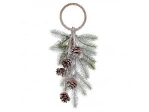 Χριστουγεννιάτικo Ξύλινο διακοσμητικό 55 εκ