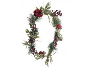 Χριστουγεννιάτικη γιρλάντα διακόσμησης 160 εκ.
