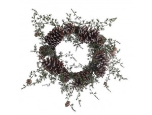 Χριστουγεννιάτικο στεφάνι 40 εκ.
