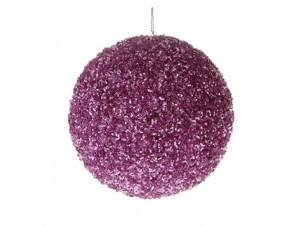 Χριστουγεννιάτικη Μπάλα Με Στρας 10 εκ.