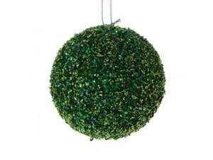 Χριστουγεννιάτικη Μπάλα Με Στρας 8 εκ.