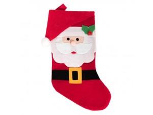 Χριστουγεννιάτικη κάλτσα 43 εκ.
