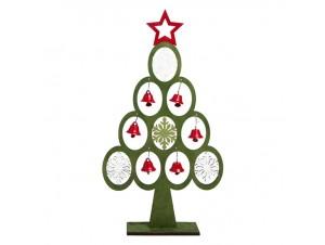 Χριστουγεννιάτικο Διακοσμητικό Δεντράκι 30 εκ