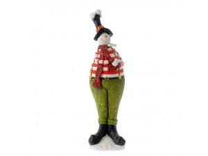 Χριστουγεννιάτικο διακοσμητικό Χιονάνθρωπος 78 εκ.