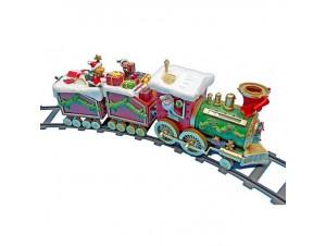 Χριστουγεννιάτικο τρενάκι φωτιζόμενο 50x8,5x16,5 εκ