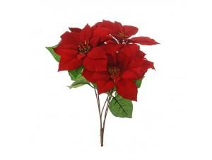 Χριστουγεννιάτικο Λουλούδι διακόσμησης 45 εκ.