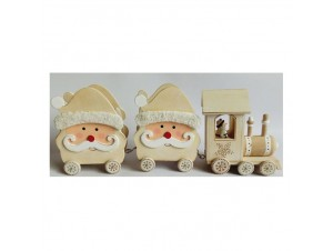 Χριστουγεννιάτικο Διακοσμητικό τραινάκι 00x00 εκ.
