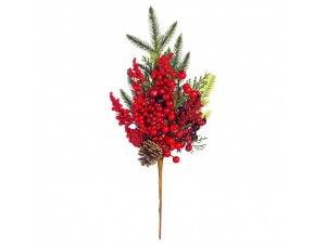 Χριστουγεννιάτικο Διακοσμητικό κλαδί 30 εκ.