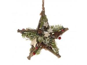 Χριστουγεννιάτικο Στολίδι Αστέρι 20 εκ.