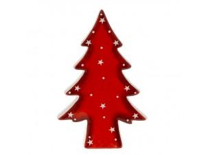 Χριστουγεννιάτικο Διακοσμητικό κεραμικό δεντράκι 10x16 εκ.