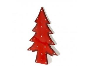 Χριστουγεννιάτικο Διακοσμητικό κεραμικό δεντράκι 14x22 εκ.