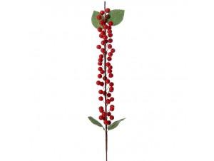 Χριστουγεννιάτικο Διακοσμητικό κλαδί με berries 55 εκ.