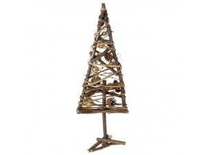 Χριστουγεννιάτικο Διακοσμητικό Ξύλινο Δέντρο 22x58 εκ.