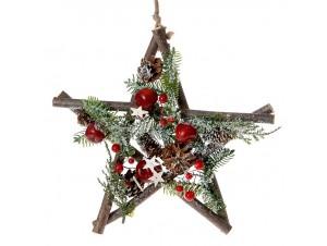Χριστουγεννιάτικο Στολίδι Αστέρι 30 εκ.