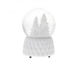 Χριστουγεννιάτικη χιονόμπαλα με μελωδία 15 εκ.