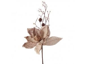 Λουλούδι διακόσμηση μανόλια 43 εκ.