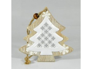 Χριστουγεννιάτικο Διακοσμητικό δέντρο 19,5X9,5X0,8 εκ.