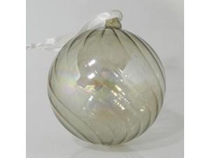 ΣΕΤ 4 τμχ. Χριστουγεννιάτικη Μπάλα Γυάλινη 8 εκ