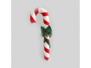 Χριστουγεννιάτικο στολίδι γλυφιτζούρι 8x14x42 εκ.