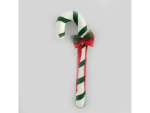 Χριστουγεννιάτικο στολίδι γλυφιτζούρι 12x21x66 εκ.