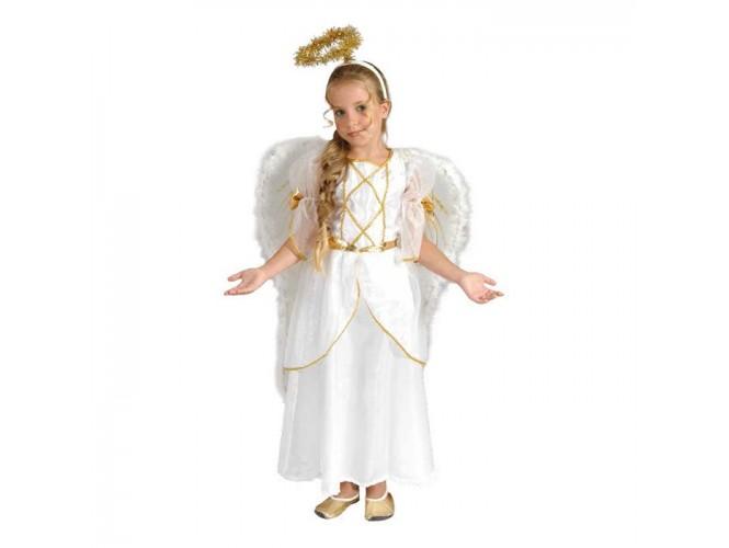 Χριστουγεννιάτικη Στολή Αγγελάκι Κορίτσι 84d0659c805