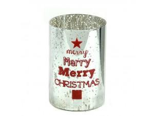 Χριστουγεννιάτικο Διακοσμητικό Κηροπήγιο 13,5 εκ.