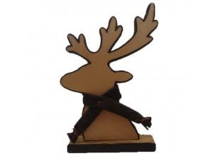 Χριστουγεννιάτικο Διακοσμητικό Ελάφι 34.5x23x8 εκ.