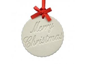 Χριστουγεννιάτικη Επιγραφή 8x8 εκ.