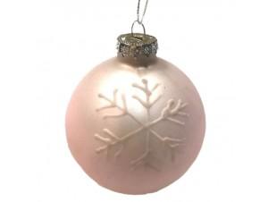 Χριστουγεννιάτικη Μπάλα Γυάλινη 10 εκ.