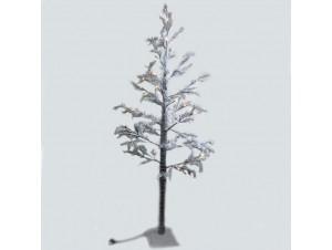 Χριστουγεννιάτικο Δέντρο χιονισμένο με φωτάκια 1,30 μ.