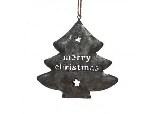 Χριστουγεννιάτικο διακοσμητικό στολίδι 12x12x1 εκ.