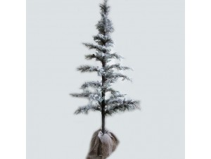 Χριστουγεννιάτικο δέντρο χιονισμένο 1,00μ.