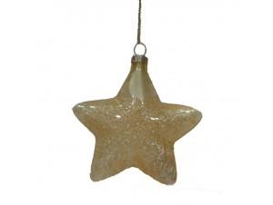 Χριστουγεννιάτικη Μπάλα Χρυσή Αστέρι