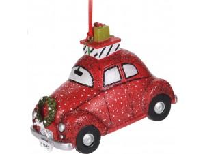 Χριστουγεννιάτικο  Αυτοκίνητο Κρεμαστό