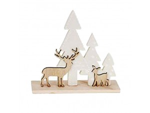 Χριστουγεννιάτικη Διακοσμητική Παράσταση 19 εκ.
