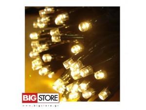 100 LED 31V  λαμπάκια θερμό χρώμα με 8 προγραμματα ΠΘ