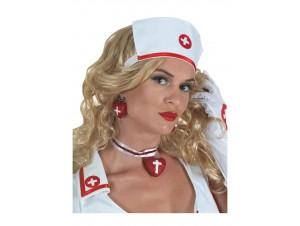 Αποκριάτικα Σκουλαρίκια Νοσοκόμας