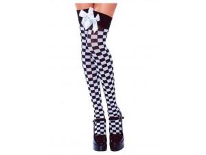 Αποκριάτικες Κάλτσες Σκακιέρα