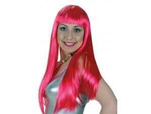 Αποκριάτικη Περούκα Lola Φούξια (24)