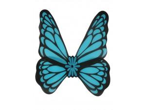 Αποκριάτικα Μπλέ Φτερά Πεταλούδας
