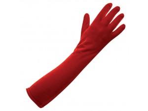 Γάντια Βελούδο Κόκκινα