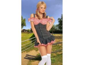 Αποκριάτικη στολή Sexy Αγρότισσα