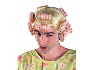 Αποκριάτικη Περούκα Κυρά Κατίνας