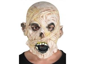 Αποκριάτικη  Μάσκα Latex Μούμια