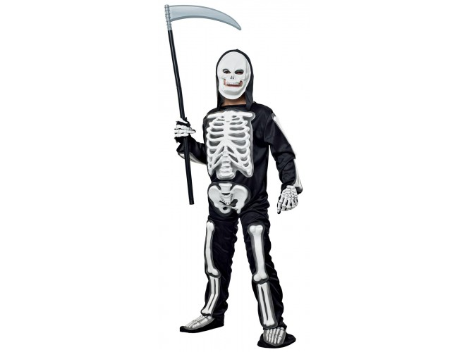 Αποκριάτικη στολή Σκελετός λευκός