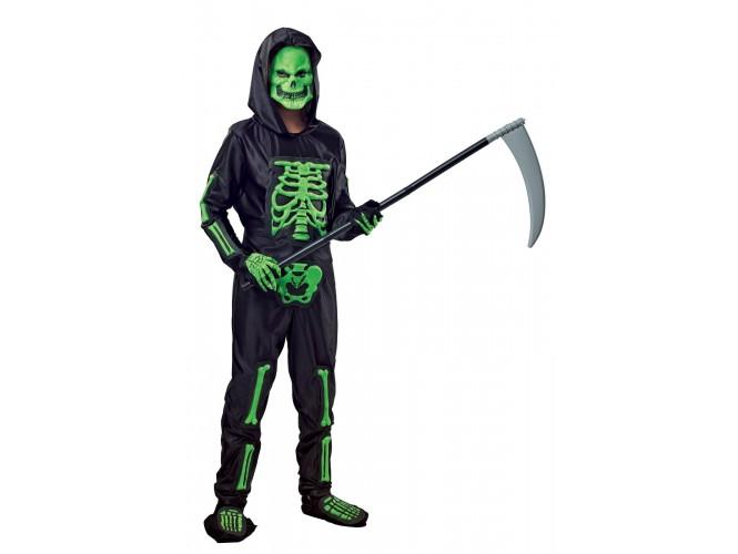 Αποκριάτικη στολή Σκελετός πράσινος