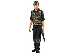 Αποκριάτικη στολή Κομμάντο γιλέκο